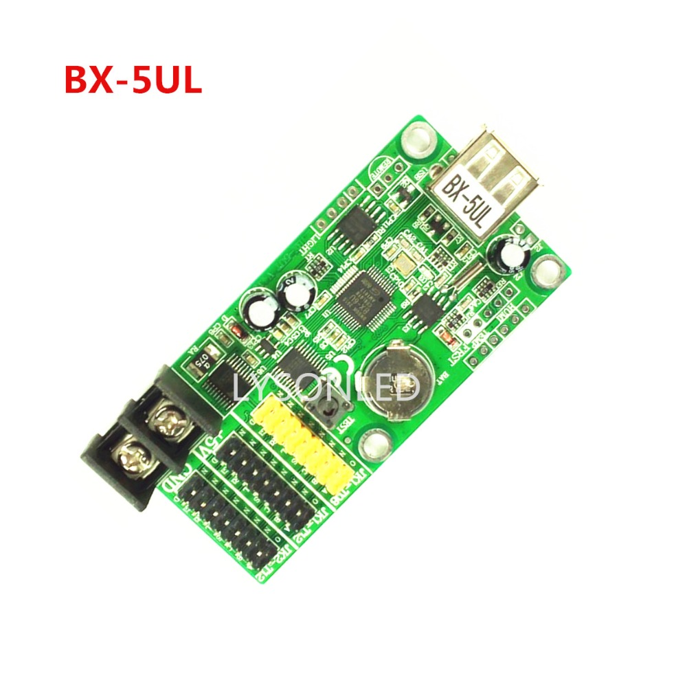 Onbon BX-5UL/BX-5UL(USB) Single Color and Dual Color LED Message Signboard LED Controller 5pcs/lot