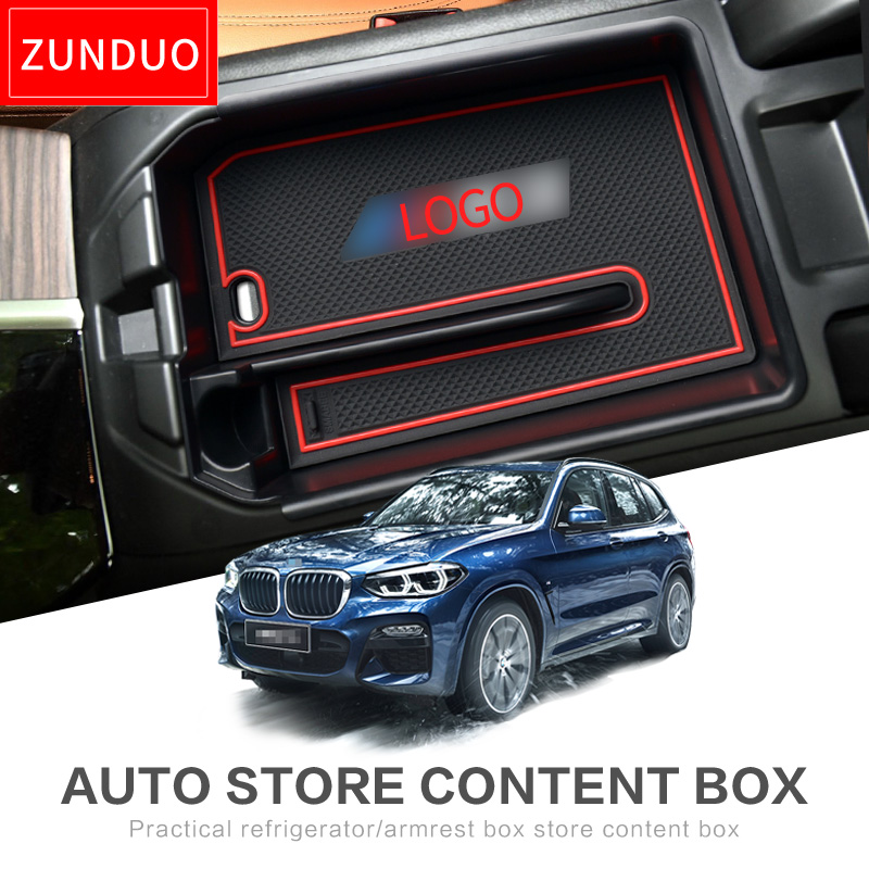 ZUNDUO Car Central Armrest Box For BMW X1 X3 1Series 2016