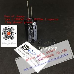 Image 2 - 100% yeni orijinal TDA7850 (4x50w ), 1 adet ZIP 25 TDA 7850 hediye: (1 adet 10000UF 25V kondansatör + 1bag termal gres)