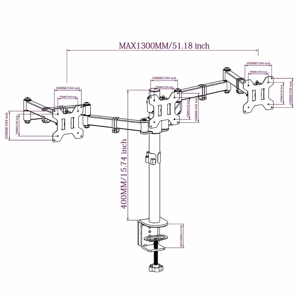 China desk mount lcd arm Suppliers