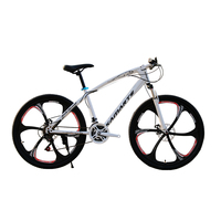 Russian warehouse and Wholesale 26 inch Double Disc Brake Mountain Bike Road Bicycle