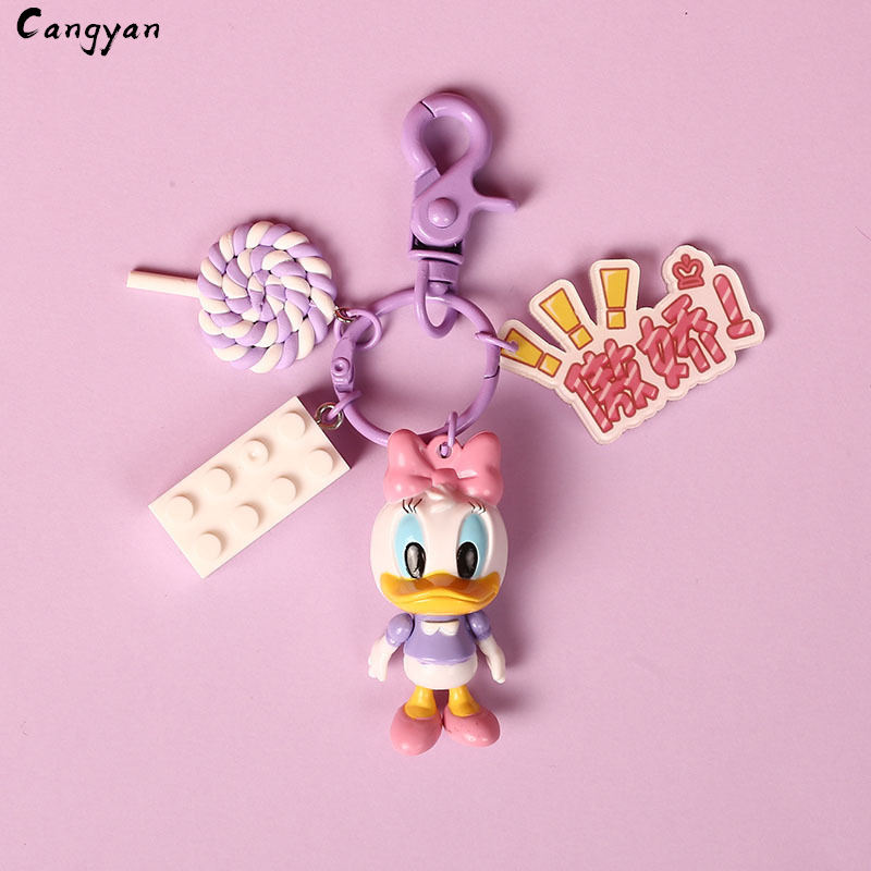 Image 3 - Cute Animal Toy Duckling Pendant Cute Creative Gift Bag Accessories Popcorn Lollipop Kids Prize Couple Toys-in Plush Wall Stuff from Toys & Hobbies