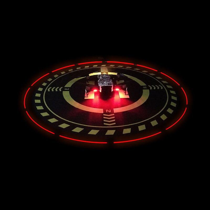 Einstellbare licht Parkplatz vorfeld Nacht Landung Licht schutzpolster für Für DJI phantom 3 4 pro Mavic Pro air FUNKEN Parrot Bebop