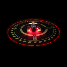 Parking apron with light Night Landing Light pad for dji mavic mini 1/mini 2 / air / pro 1/ mavic 2 pro & zoom phantom