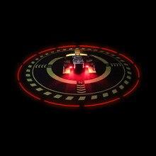 ساحة وقوف السيارات مع ضوء ليلة الهبوط لوحة واقية ل dji mavic mini/air/pro 1/spark/mavic 2 pro & zoom phantom