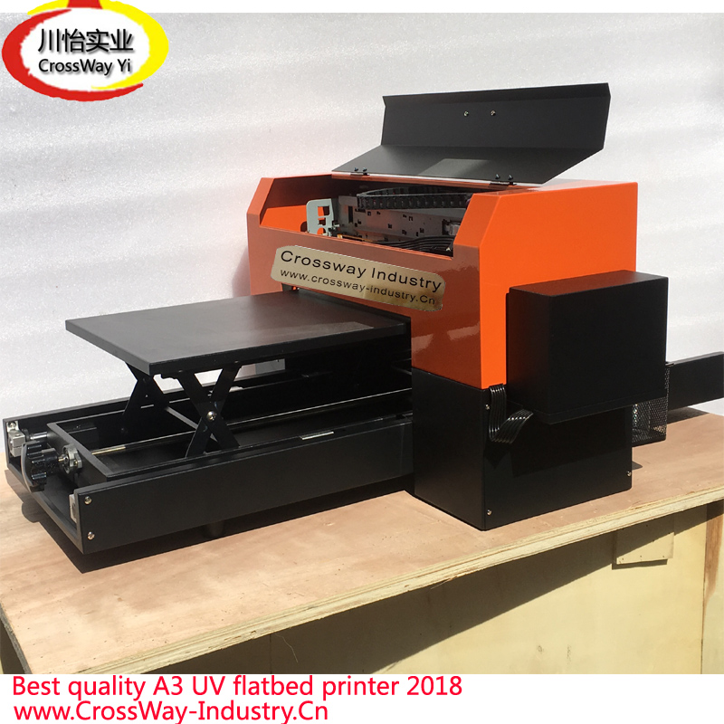 R1390 R1400 A3 Flatbed UV printer for all hard materials prints led uv curable ink for epson 1390 printer head printing on hard materials for 3d effects 1000ml pcs 6c