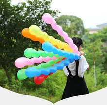 10pcs 36inch Screw Thread Latex balloons birthday Float Air Balls Inflatable Wedding Birthday balloons Party Decoration Kid Toys стоимость
