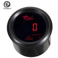 EE apoyo 52mm Car LED Display Digital Indicador de Temperatura de Aceite Auto Instrumento Motocicleta Universal Ventas Calientes