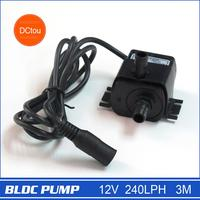 New Water Pump 12v Small Submersible Pump Upgrade 240LPH 3M 4 2W Portable Long Lifespan 30000