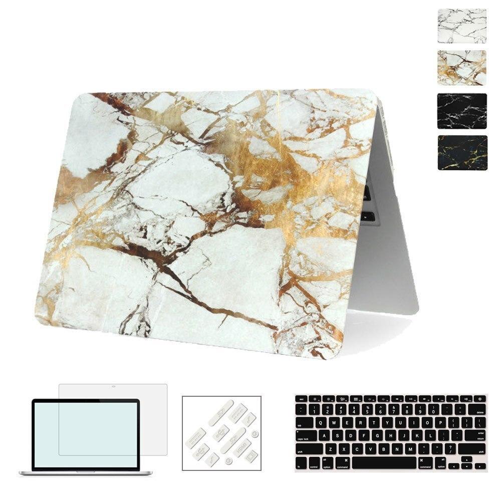 RYGOU Funda con textura de mármol para Apple Macbook Air Pro Retina - Accesorios para laptop - foto 3