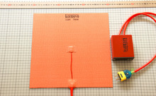 300mm x 300mm approx 12 x 12 750W 220V KEENOVO Silicone Heater 3D Printer Heating Element