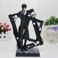 25 cm Mais Recente Black Butler Kuroshitsuji Sebastian Jogo Anime Figura de Ação Brinquedo PVC