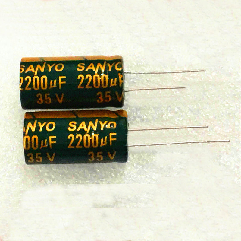 10pcs high quality 35V2200UF High frequency and low resistance   Electrolytic capacitor 2200UF 35V 13X25mm 10pcs high quality 25v68uf high frequency and low resistance long life electrolytic capacitor 68uf 25v 5x11