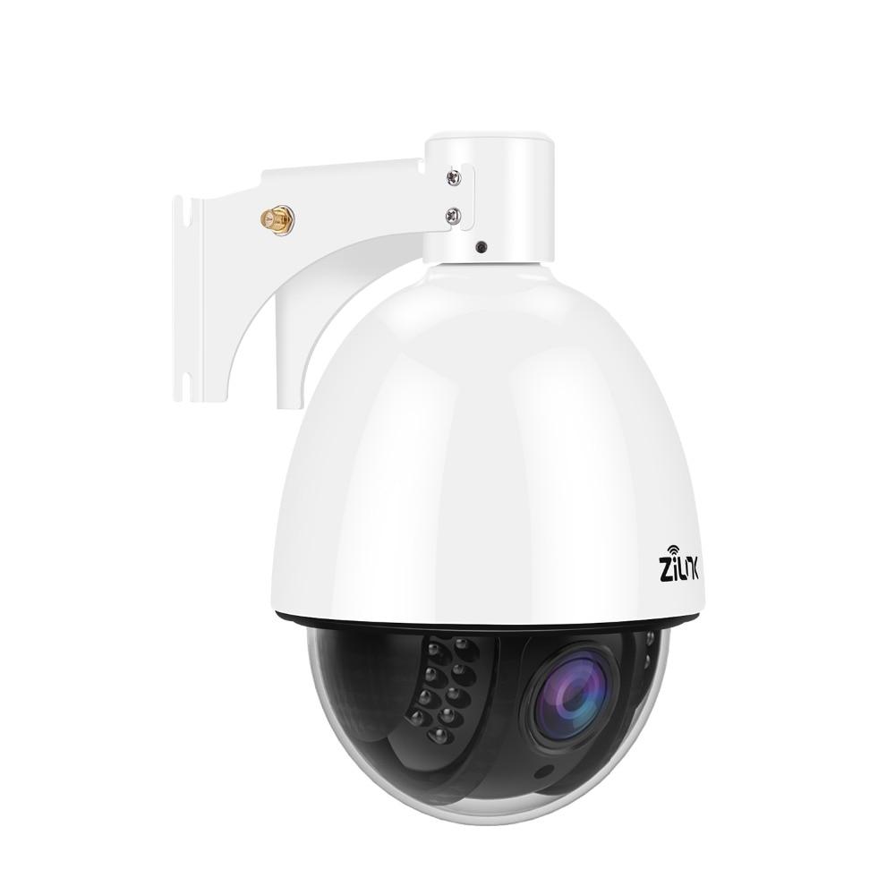 ZILNK 1080P HD PTZ WIFI IP Camera Outdoor 5X Zoom Waterproof Speed Dome H 264 Onvif