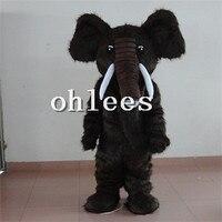 Ohlees в магазине плюшевые слоны Маскоты Хэллоуина Рождество День рождения Реквизит костюмы для взрослых мультфильм животных Настроить