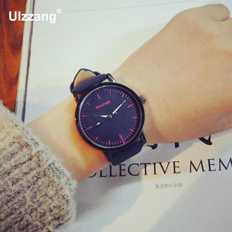 Fashion School Style Unisex Leisure Quartz Watches Unique Cool Women Men Wristwatch Gift To Students Boys Girls High Quality