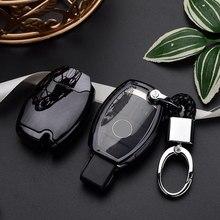 Высокое качество 10 шт. PC+ TPU чехол для ключей Mercedes для Benz B200 C180 E260L S320 GLK300 CLA CLS S400 стайлинга автомобилей