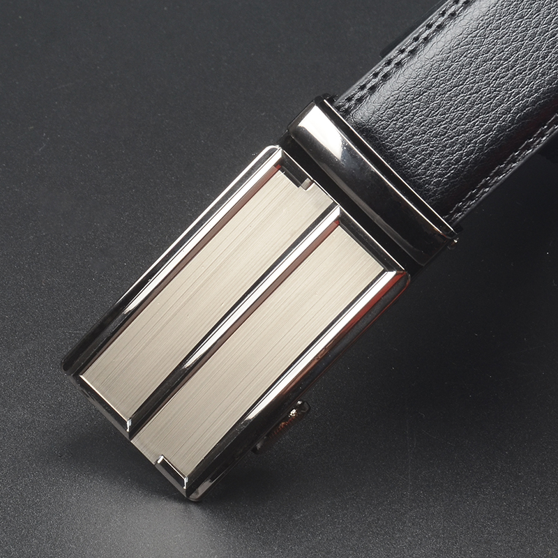 For Men's Business Automatic Buckle Unique Men Plaque Belt Buckles For 3.7cm Ratchet Men Apparel Accessories