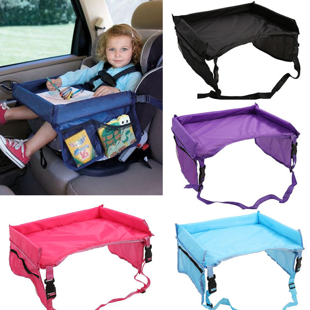 new stroller board car table kids seat tray table waterproof kids cars tray car seat table
