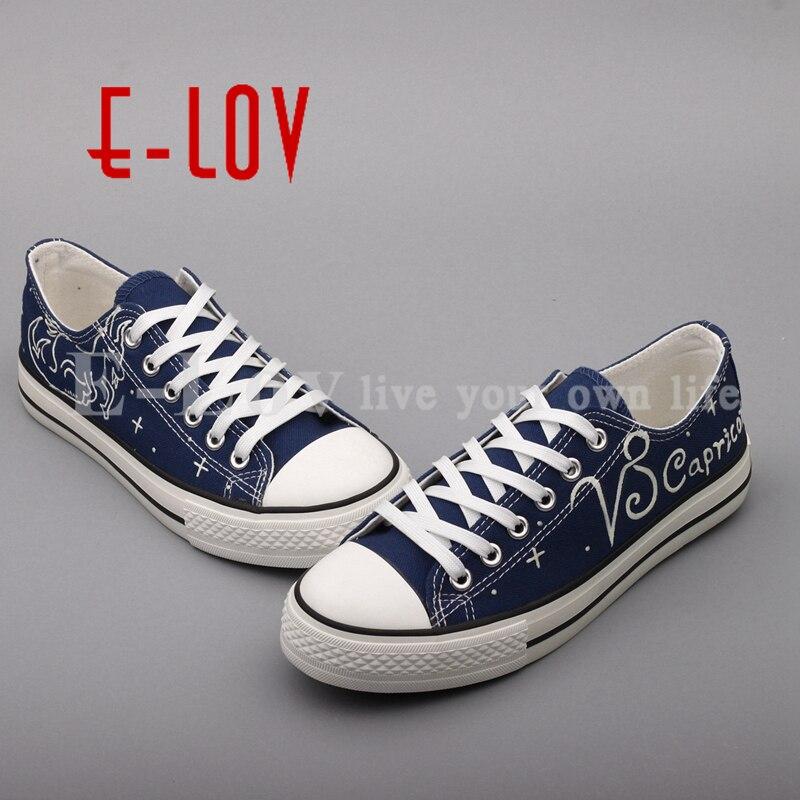 Planos Luminoso De Mujeres Lona Diseño Mano A Femininos Yd202l Constelación Pintado Zapatos 00000 Oxford Sapatos Lov x4fqPX