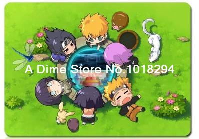 Naruto mouse pad Q version Naruto mousepad laptop anime mouse pad gear notbook computer gaming mouse pad gamer play mats