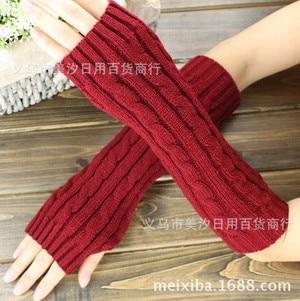 Armstulpen Temperamentvoll Winter Stil Paar Halten Warm Arm Hülse Süße Vogue Modellierung Fingerlose Handschuhe/handgelenk/arm/paket Freies Verschiffen