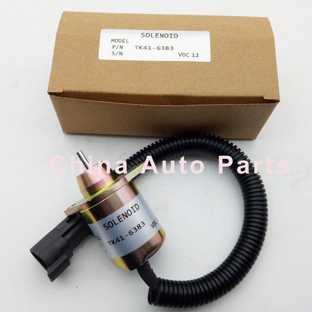 Stop Magnetventil 1503ES 12S5SUC11S SA 4920 SA 4564 SA 4817 TK41 6383 TK 41 6383 FÜR Motor Thermo King