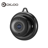 Digoo DG MYQ 2 1mm Lens 720P WIFI Night Vision Two Way Audio Smart Home Security