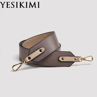2019 New Fashion Real Leather Wide Bag Straps 98*4.6cm Replacement Shoulder Bag Strap Accessories