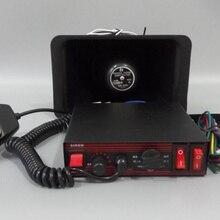 Более высокая звезда 100 Вт полицейская сирена автомобиль предупреждающий сигнал с микрофоном для полицейского автомобиля, скорой помощи огонь+ 100 Вт динамик