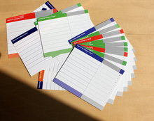 20 Sheets File Tab Card Label Document Catalog Assorted Color Blank Index Tag For Office Liberary