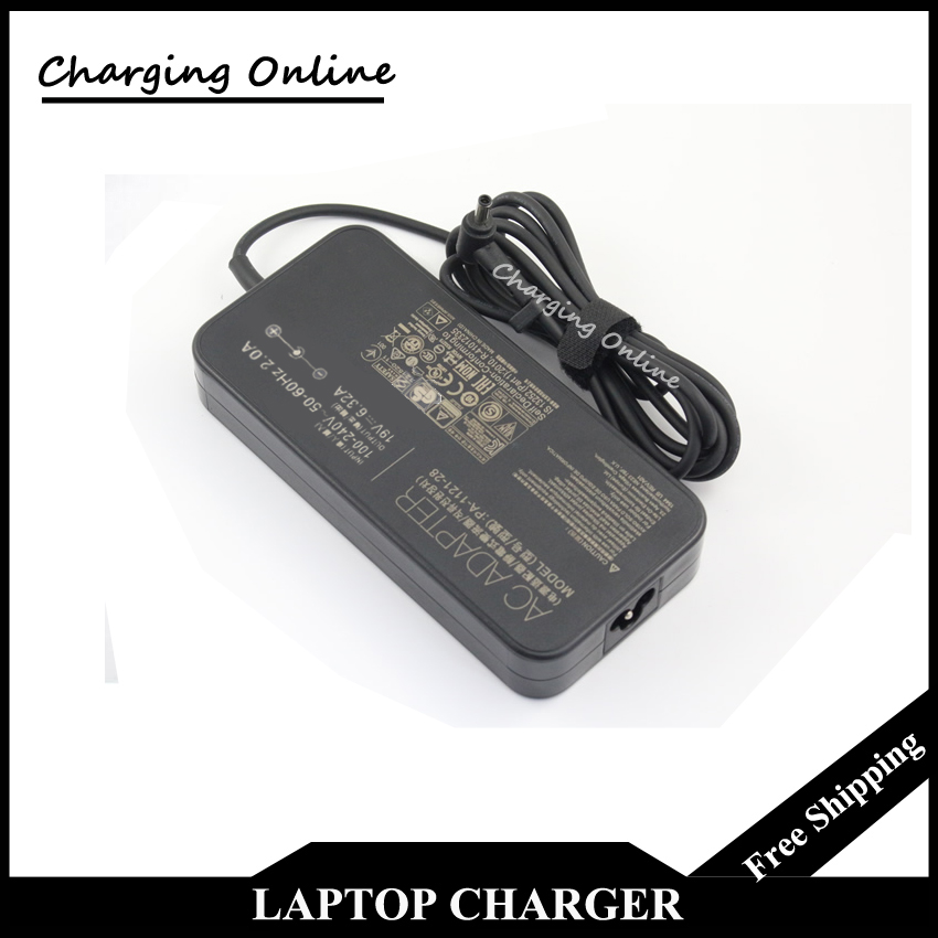 ФОТО 19V 6.32A 120W Laptop Adapter Charger PA-1121-28 ADP-120RH B For Asus ROG G501 G501JW UX501J Original Gaming Computer Charger