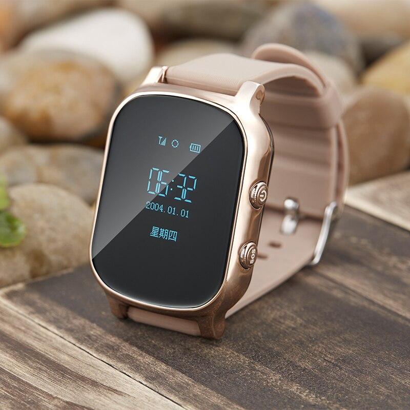 T58 Smart детские часы GPS трекер SOS звонок с sim-карты в российских ребенок лет Для мужчин SmartWatch для IOS Android телефон