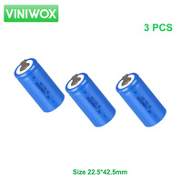 1 2V Ni Cd SC 2000mAh Rechargeable Battery NiCD Subc Battery Cell With Weld Nickel Stripe