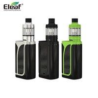 Оригинальный Eleaf iKuun i200 kit электронная сигарета с 4600 мАч встроенный аккумулятор большой емкости MELO 4 форсунки 200 W ikuu ТК mod электронной сигарет...