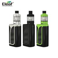 Original Eleaf iKuun i200 kit electronic cigarette with 4600mAh built in large battery MELO 4 Atomizer 200W ikuu TC mod Vape kit