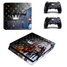 Game Kingdom Hearts PS4 Slim Skin Sticker