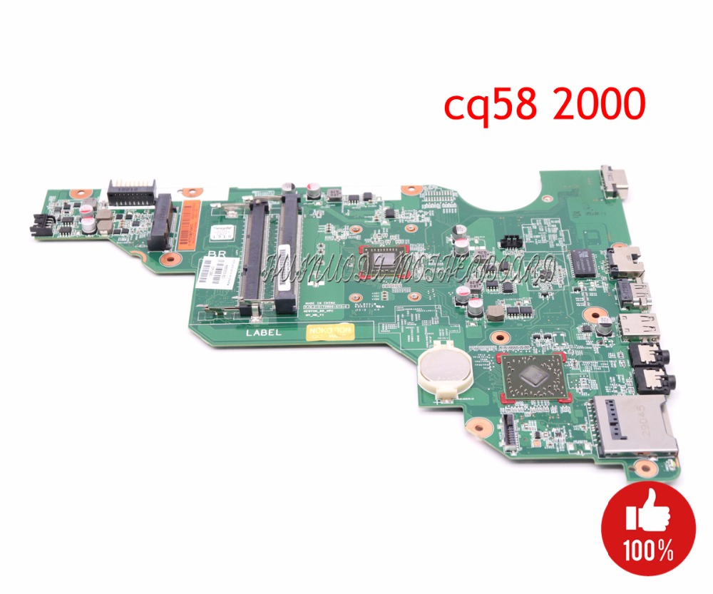 NOKOTION 688303-501 688303-001 laptop motherboard for HP Compaq 2000 CQ58 PN 010172W00-600-G Main board full works