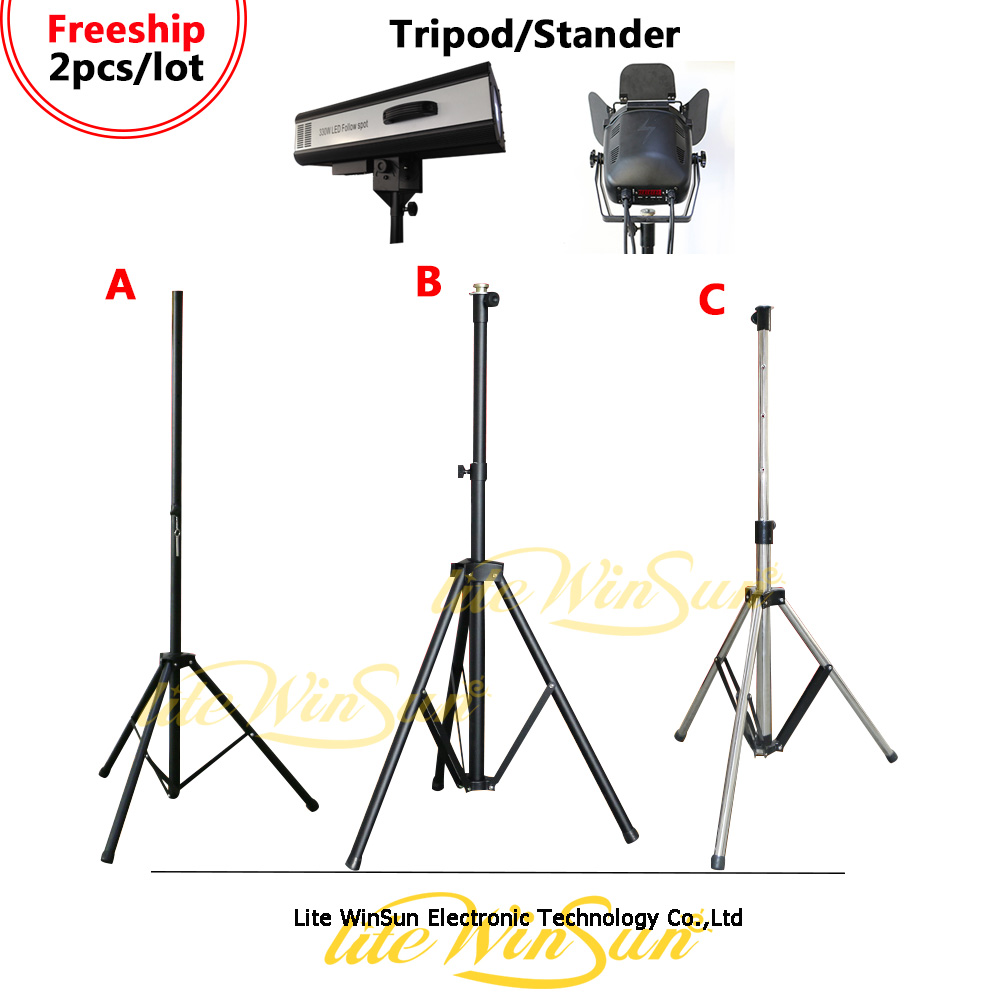 Litewinsune Stage Lighting Tripod Stander for Follow Spot Lighting LED Profile Light Surface Light Par LED litewinsune 330w led spot follow lighting performance stage lighting