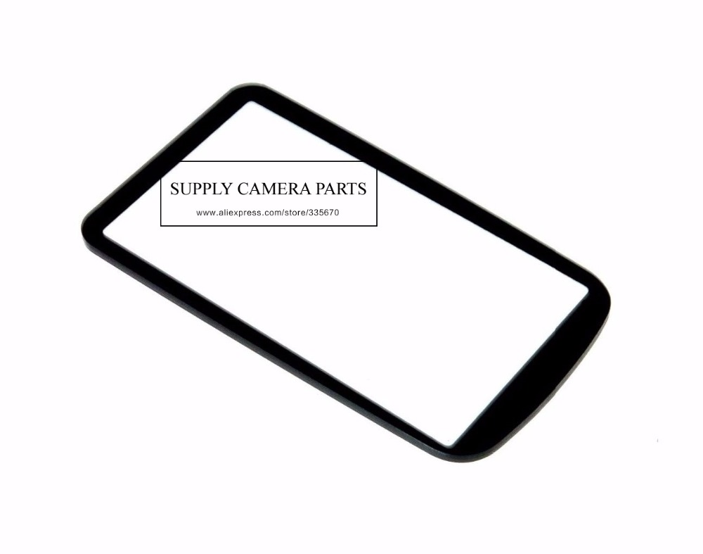 new for Nikon D500 Top Small Outer LCD Screen Display Window Glass Cove Camera Replacement Repair Part
