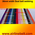 5 meter per ROLL 38mm width seat belt style webbing Automotive safety Harness Racing Safety Seat Belt design web free shipping