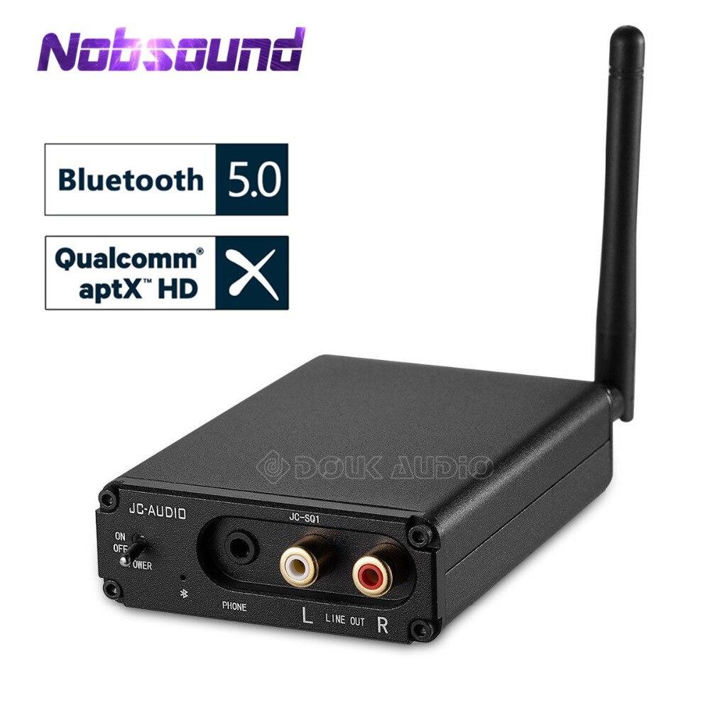 цена на Nobsound HiFi CSR8670 Bluetooth 5.0 Audio Receiver DAC Digital to Analog Converter OPT COAX APT-X Mini Headphone Amp