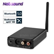 Nobsound HiFi CSR8670 odbiornik audio Bluetooth 5.0 przetwornik cyfrowo analogowy OPT COAX APT X mini słuchawki Amp