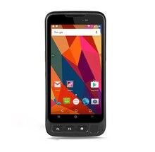 """Unlocked Kcosit V720 IP67 Rugalmas vízálló telefon ujjlenyomat-olvasó Octa Core 5.0 """"Android 7.0 okostelefon GPS 4G Lte 2D szkenner"""