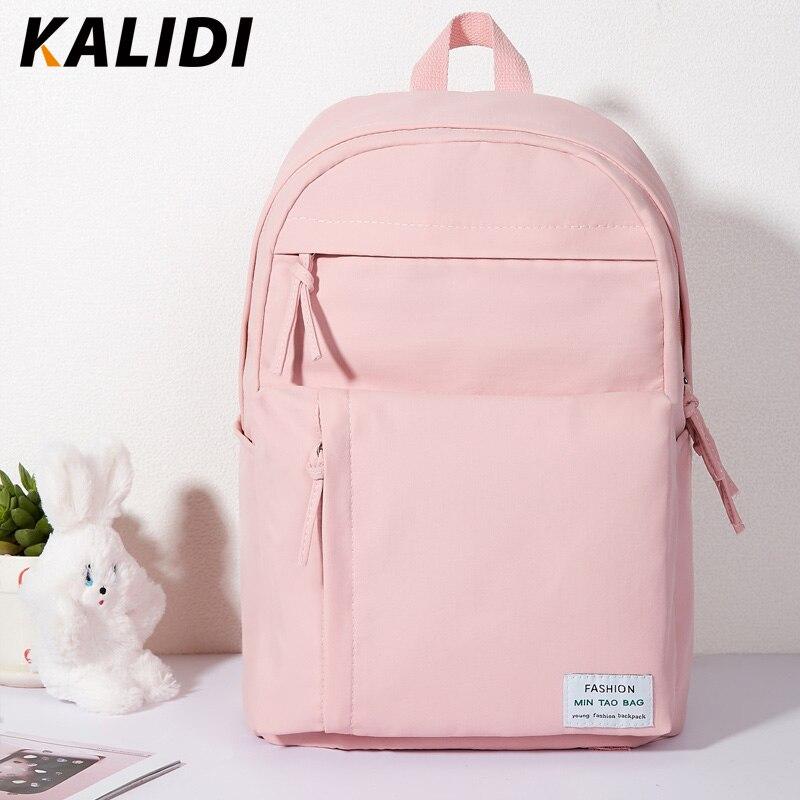 amplia selección de colores y diseños zapatos de otoño hombre €12.82 40% de DESCUENTO|KALEDI mochila de moda de las mujeres coreanas de  estilo juvenil bolsas para la escuela de La chica de viaje de Japón  portátil ...