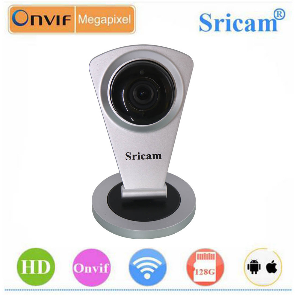 bilder für Sricam SP009C P2P Remote View HD 720 P Mini Wireless IP kamera WIFI Nachtsicht IR-Cut Überwachung Ip-kamera Cctv Cam