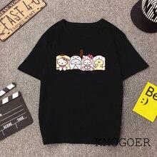 Ladies Funny Kitty Family T Shirt Cotton O-Neck Hello Kitty