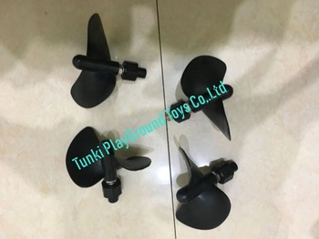 child bumper boat oar sets propeller cable axis