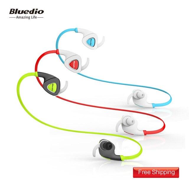 Bluedio Q5 (энергия) серия Ураган  Bluetooth спортивная  вставная гарнитура, встроенный микрофон, физическое шумподавление, потонепроницаемые беговые вставные наушники