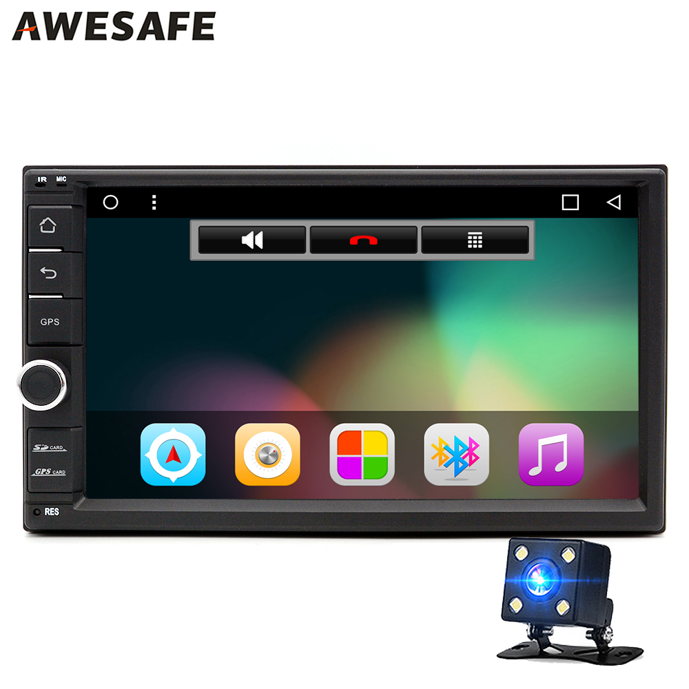2 din android 6 0 car radio 1024 600 stereo audio quad. Black Bedroom Furniture Sets. Home Design Ideas